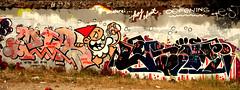 graffiti in Utrecht (wojofoto) Tags: utrecht nederland netherland holland grindbak hof halloffame graffiti streetart legalwall wojofoto wolfgangjosten kbtr deutrechtsekabouter utrechtsekabouter