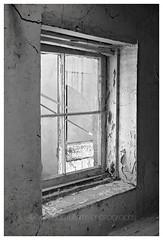 Abandoned (~ veronicajwilliamsphotography ~) Tags: veronicajwilliamsphotography veronicajwilliams copyrighted abandoned fujixt20 fuji fujifilm fuji18135 window old rustic delapidated rundown neglected windowframe southaustralia australia australianoutback blackandwhite bw