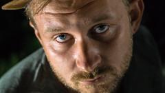 male portrait (toivo_xiv) Tags: maleportrait portrait beard darkness stranger macabre beardman honest man closeup kyiv ukraine eyes sight human