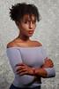 Yasmine_0995-Edit (AdvantagePhotography) Tags: advantagephotography portraiture yn85mm yn85mmf18 yongnuo darkskin black african curly blackhair offshoulder bustline bust stripbox studio lighting rimlight kickerlight filllight