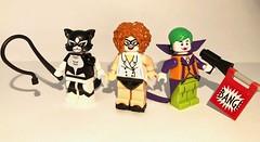 DC Figbarf #4 (ColbyBricks) Tags: colby custom bricks lego toy minifigures dc figbarf catwoman nurse harley quinn joker