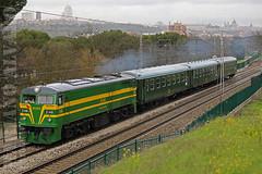 Diesel alco 2100 ALSA verde (Mariano Alvaro) Tags: 2100 2148 alco renfe verde alsa tren felipe ii