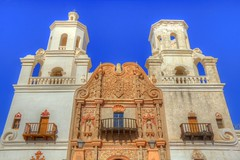 Mission (David K. Edwards) Tags: mission church abc sonora desert tucson arizona religious colonial asymmetry