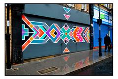 STREET ART SHUTTERS by ART BELIEVE. (StockCarPete) Tags: artbelieve croydon cronx streetart londonstreetart urbanart graffiti shutters shutterart shopfront london uk