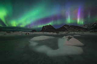 Weird Northern lights