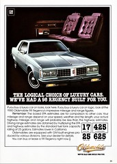 1980 Oldsmobile 98 Regency Coupe (aldenjewell) Tags: 1980 oldsmobile 98 regency coupe ad