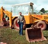 Pontins Dolphin Holiday Camp, Brixham, 1983 (Reg of Whitehall) Tags: jcb 3c 1983 brixham pontins digger backhoe loader excavator mplinsdell