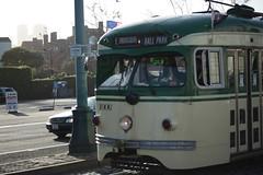 07APR2018-SF-Pier39-IMG_3838 (aaron_anderer) Tags: sf sfbay bayarea sanfrancisco fishermanswharf pier39 pier 39 2018 california muni fline f line streetcar street car retro classic