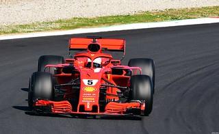 Ferrari SF71H / Sebastian Vettel / GER / Scuderia Ferrari