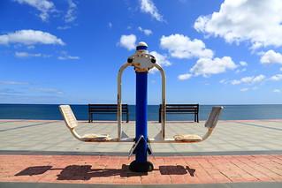 balancing the benches