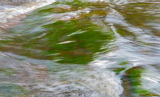 White Lake Brook Flow Abstract