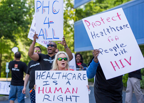 Tallahassee Medicaid Cuts Protest - April 12th, 2018
