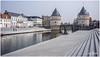 Silent Witness Of A Heroic Past (RudyMareelPhotography) Tags: belgium bridge broeltorens europe flanders kortrijk leie westvlaanderen medieval medievaltowers towers