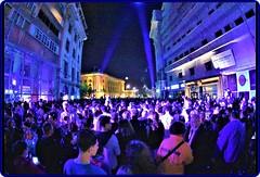 The Festival of Lights Bucharest - Spotlight 2018 (2) (Ioan BACIVAROV Photography) Tags: festivaloflights bucharest romania spotlight2018 festival lights building people night projection art visual architecture