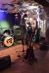 DSC_0024 (richardclarkephotos) Tags: tim bish joey luca © richard clarke photos derellas three horseshoes bradford avon wiltshire uk lone sharks guitar bass drums guitarist drummer bassist band bands live music punk