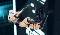 Comin' In Hot (riowyn.slife) Tags: ay cybernetics cyberpunk insilico secondlife sl electra bodylanguage sweetlovelycute xxx