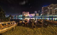 Kuching Waterfront (azahar photography) Tags: sarawak borneo kuching malaysia tourism city river waterfront travel building landmark riverside asia landscape state tourist view history water assembly esplanade architecture asian color colorful negeri nature boat outdoor lake government traditional exterior urban tour night vacation skysline nightscape
