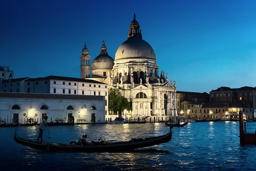 "Basilica Santa Maria della Salute in sunset time, Venice, Italy • <a style=""font-size:0.8em;"" href=""http://www.flickr.com/photos/151084956@N05/41600162292/"" target=""_blank"">View on Flickr</a>"
