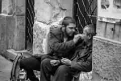 Humanity on the streets (CsiziPhoto) Tags: nikonfe nikkorpauto105cmf25 f56 kodak tmax400