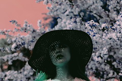 (emmakatka) Tags: surreal dreamy woman portrait blossoms blossom flower flowers spring fashion hat shadow shadows emmakatka minnesota