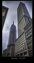 Chrysler Building - NYC (vonhoheneck) Tags: manhattan broadway timesquare 5thavenue uptown schoelkopf schölkopf canon eos6d usa nyc newyork taxi wolkenkratzer skyscraper flatironbuilding chryslerbuilding bigapple empirestatebuilding
