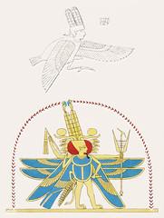Amon-Ra, King of the God illustration from Pantheon Egyptien (1823-1825) by Leon Jean Joseph Dubois (1780-1846). Digitally enhanced by rawpixel. (Free Public Domain Illustrations by rawpixel) Tags: egyptian god otherkeywords afterlife amen ammon amon amonra amun antique cc0 creation dubois egypt godofegypt goddess heliopolis illustration king kingofthegods ljjdubois leonjeanjosephdubois mythological name pantheon pantheonegyptien patrongod ra sungod vintage