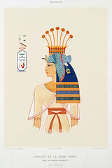 Portrait of Queen Nebto, daughter of Ramses-Meïamoun from Histoire de l'art égyptien (1878) by Émile Prisse d'Avennes (1807-1879). Digitally enhanced by rawpixel. (Free Public Domain Illustrations by rawpixel) Tags: egyptian otherkeywords anillustrationoftheegyptian ancestry ancient ancientegyptcostume ancientegyptian ancientegyptianart anqet antique archaeological archeology art artwork cc0 daughter design designing drawing dynasty egypt egyptiankingdom egyptien egyptology empire handdrawn histoiredelartégyptien historical history illustration kingdom meïamoun mythology nebto old oldfashioned outlines outlinesfromtheantique painting pattern portrait psd publicdomain queen ramses sepia sketch story traditional vintage émileprissedavennes