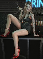 LOTD! (☪ Danna Benoir) Tags: catwa sl secondlife photography bar azouryfrance speakeasy accessevent theforgeez taketomiwest fameshed cosmopolitan