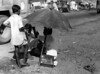 img288 (Höyry Tulivuori) Tags: india 1970 street life people cars monochrome men women child 70s vintage seventies temple city country индия улица чернобелое автомобиль дома народ быт