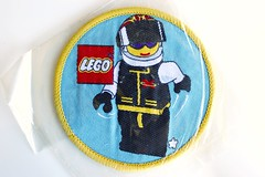 Extreme Team woven patch (BF Bricks) Tags: lego ephemera collectible patch sew embroidered 90s 80s