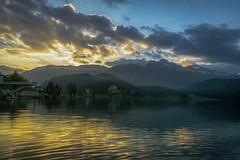 Dawn, St Moritz (Auteurian) Tags: stmoritz switzerland mountain lake dawn