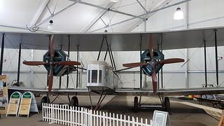 Vickers FB-27A Vimy (airworthy replica build in 1994) c/n 01 registration N71MY preserved as