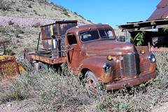 1948 International KB-5 Flatbed Truck (Gerald (Wayne) Prout) Tags: 1948internationalkb5flatbedtruck goldkingmineandghosttown jerome yavapaicounty arizona usa prout geraldwayneprout canon canoneos40d 40d eos digital camera photographed photography vehicles 1948 international kb5 flatbed truck transportation yavapai county stateofarizona goldkingmine ghosttown gold king mine ghost town antique old historical canonlensef28135mmf3556isusm lens ef28135mm f3556 is usm