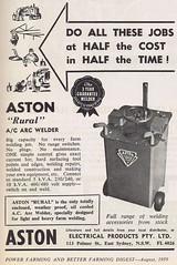 Aston 1959 (Runabout63) Tags: aston welder
