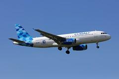 A320 5B-DDC London Heathrow 11.06.18 (jonf45 - 4 million views -Thank you) Tags: london heathrow airport egll lhr airliner civil aircraft jet plane flight a320 cobalt air airbus a320214 5bddc