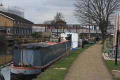 River Lee Navigation (lazy south's travels) Tags: london england english britain british uk boat barge canal water way waterway towpath footpath path industrial heritage transport