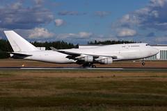 CAL 4X-ICC, OSL ENGM Gardermoen (Inger Bjørndal Foss) Tags: 4xicc cal boeing 747 cargo osl engm gardermoen