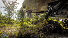 Grounded Vulture (trip_mode) Tags: urbex urban exploration exploring military air base jet plane fighter decay sky