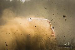 Argyll Rally - Michael Binnie - Mitsubishi Lancer Evo 9 (Will M. Photography) Tags: car rally evo mitsubishi scotland dunoon argyll racing gravel driving rallying dirt track race championship