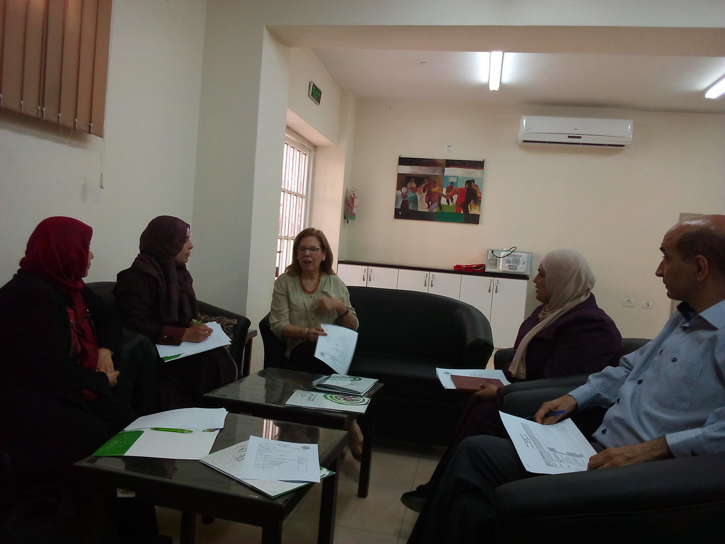 Hebron University - First meeting of the steering committee