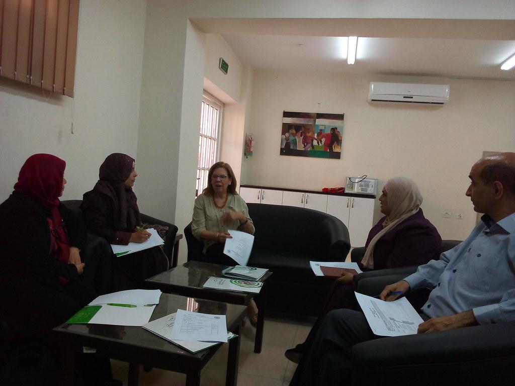 Hebron University - First meeting of the steering committee