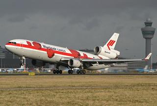 PH-MCU, McDonnell Douglas MD-11 Martinair @ Amsterdam AMS EHAM