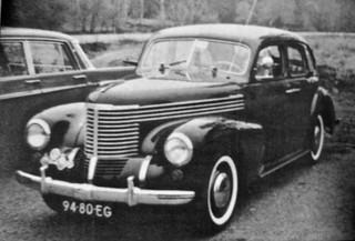 94-80-EG OPEL Kapitän Limousine 1949