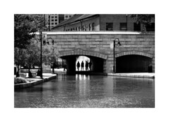 Under the bridge (beloy) Tags: street streetphotography urban candid bw blackandwhite richmond virginia nikon nikkor nikond850 2485mmf3545gvr