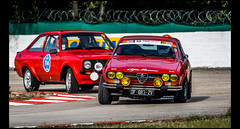 Alfa Romeo 20000 GTV (1980) Vs Ford Escord RS 2000 (1976) (Laurent DUCHENE) Tags: lesgrandesheuresautomobiles automobile automobiles auto autodrome 2017 car alfa romeo 20000 gtv ford escord rs 2000