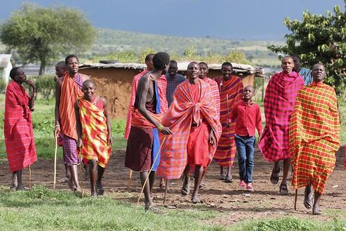 Relaxed Maasai