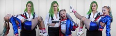 (Mother + Daughter) x 3 (l plater) Tags: harleyquinn joker dccomics 2018supanovaexpo sydneyolympicpark cosplay