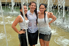 Newly become pharmacist celebrate (misi212) Tags: pharmacist ladies celebrate fountain