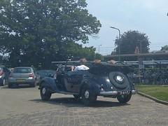 Mercedes W136 170D Cabrio-Limousine 1951 (01-66-FJ) (MilanWH) Tags: mercedes w136 170d cabriolimousine 1951 0166fj