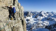 Arista de los Diablos (cimanorte) Tags: pirineo pirineos pyrenees escalada climb montaña aventura adventure mountains climbing naturaleza lifestyle sport deporte freedom libertad vida alpinismo invierno escalade